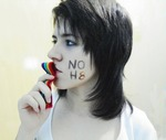 Natália Lara - My first NOH8!