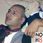 Chrispy - Percy Danforth (my transgender teddy bear) and I.