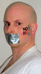 David Slaga - This was a NOH8 pic I did on my own. Peace.
