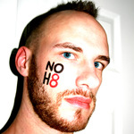 Rik - NOH8 Self-Portrait: 03/27/11