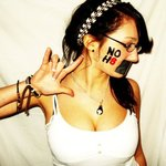 Elizabeth Cordova - This picture was taken for my own NOH8 photo shoot over a year ago. For a photography class project, I made a 3D collage of the pictures I took. It turned out great. Hopefully, the other participants in my shoot will make their own NOH8 profile, as well.