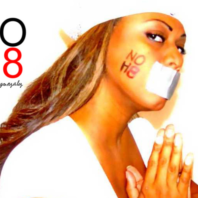 Lisy - Lissette Torres Gonzalez. In support of the NO H8 campaigne all the way!!!