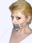 Red Kittie Kat - My NOH8 Picture taken by me on May 8, 2011