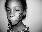 Warhol - My Lil Sister is helping me support this campaign by being apart of this mini photoshoot.