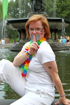 Cheryl  Gilroy - Taken on June 25 by the Bethesda Fountain in Central Park in New York..The Day after New York passed the bill alowing same sex Marriage!!