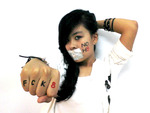 MinCi Su - My NoH8 photo :D did it w my friend help <3