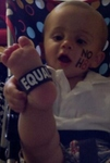 florencia norton - Noah showing support for NoH8 and Equality!