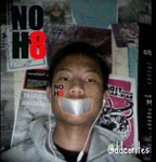 Aldy - KEEP SAYING #NOH8 To EVERYONE!!