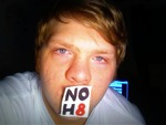 Brian Nunez - Joined NOH8's website and wanted to upload my own NOH8 picture. Here it is.
