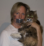Jeff Henderson - My cat also wanted to support the NOH8 campaign!