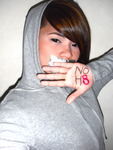 Cherise Andre - NOH8. No hate.