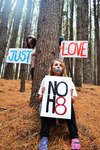 Correy Katie  - Angel, Rachel, Correy. NO H8 in olinda forest. <3