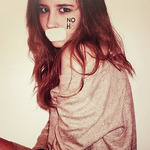 Aldy - hi ! this is me, and my photo for NOH8 campaign, i think this campaign is so important! i'm really loved to can help! xoxo!