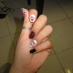 Mi Keang Joo - Supporting NOH8 nailart...