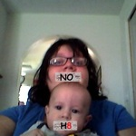 maria hafer - my little brother has NOH8 either<3