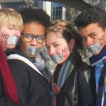 Alex - Friends and me supporting NOH8 2010.