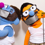 Roger & Bryce - Roger and Bryce the gay puppets from Australia support NOH8!
