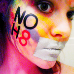 Kara Mundy - Body paint for equal rights!