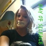 trisha kelly - Last year for day of silence, only one in my school to do it