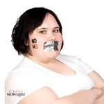 Heather  Freet - NOH8 photo shoot at IU on 4/11/10.