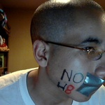 Christian Ramos - My NOH8 Campaign Photo <3