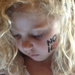 Heather Jurgens - My princess supporting NOH8.
