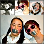 Janie Foley - photoshoot with one of my bestfriends. we're both gay and support NOH8.<3