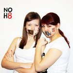 Catherine Hanaeva - photo shoot in support of the campaign ''NOH 8"