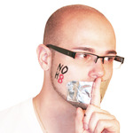 Patrick McKelvey - NOH8 at Chatham University in honor of the 2012 Day of Silence