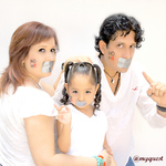 Eduardo Oliva - Our family picture supporting NOH8 campaign. We will encourage our friends to do so.