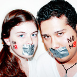 Devan Adkins - Kayla Lacy and Irbin Morales of southcentral Virginia support No H8.