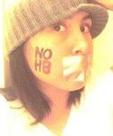 Sela - I have been following the NOH8 campaign from the moment I heard about it. I have never been able to make it a photo shoot, so I decided to do my own amateur photo when I was a Junior or Senior in high school.