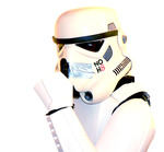 Dan Rutherford - Me as a Stormtrooper, even the Empire supports NOH8