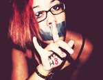 Ashley - NOH8  Shh.