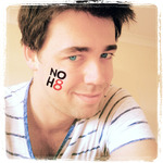 Daniel Smith - The Picture I chose to campaign for NOH8. Equal Love for all