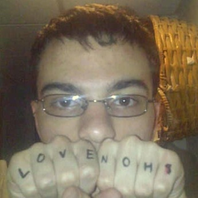Cory Snyder - I may not be the best looking person, but at leasst I know what the world needs:LOVE NOH8.