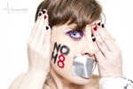 Melissa Heeres - If I do not hear anyone asking for help, who will hear me?  If I do not see harm being done to others, will anyone see me when I am hurting?  If I do not speak up for those being denied rights we are all entitled to, then how can I expect anyone to stand up for me?  Str8, NoH8