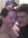 Jaclyn Lorscheier - My husband and I stand for NOH8!