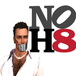 Marcel de Vette - Supporting No H8 in Second Life (picture redone 2012 by BM Oh )