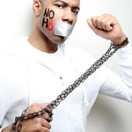 Joshua Kennedy - We can still speak out even when our rights are chained.