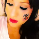 samantha magana - NoH8. No HATE. No JUDGEMENT. Everyone has the right to marry, the right to the pursuit of happiness. LOVE is LOVE.