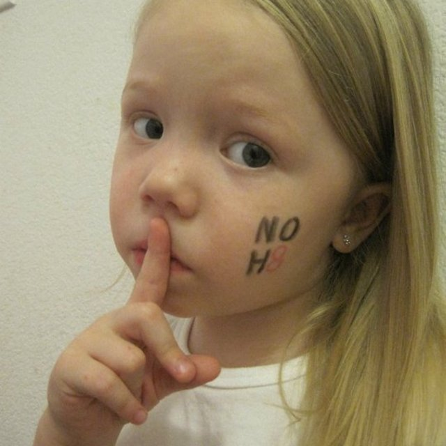 angela reed - My daughter Addison Reed supporting the NOH8 cause!