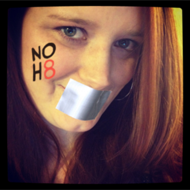 Alina Leporacci - Uploaded by NOH8 Campaign for iPhone