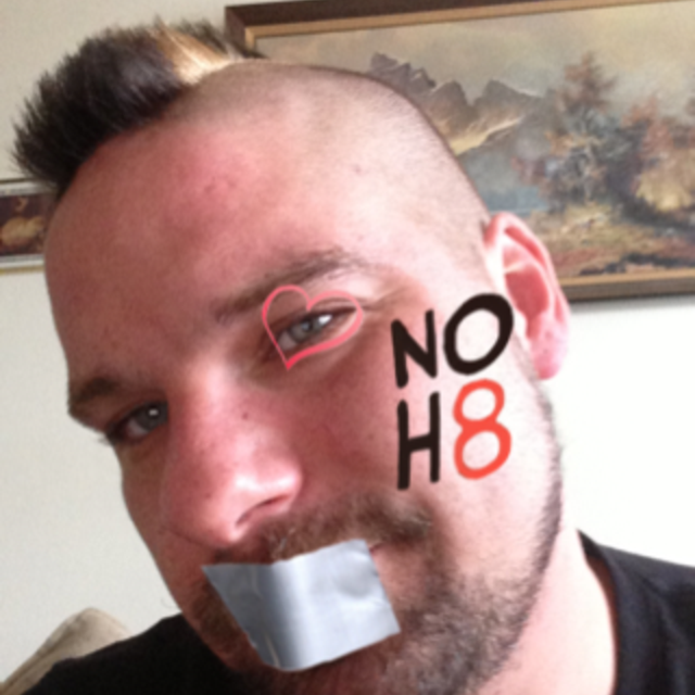 Brian Buchner - Uploaded by NOH8 Campaign for iPhone