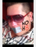 Kory Rutz - Uploaded by NOH8 Campaign for iPhone