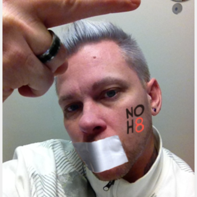 Daniel Shackley - Uploaded by NOH8 Campaign for iPhone