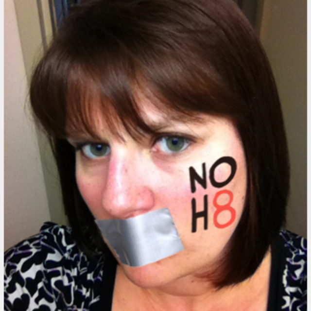 Julie Mulch - Uploaded by NOH8 Campaign for iPhone