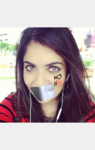 Diksha Khemlani - Uploaded by NOH8 Campaign for iPhone