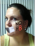 Sarah Fournier - Uploaded by NOH8 Campaign for iPhone