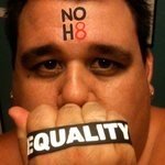 Andrew Frankel - After coming home from a NOH8 event a year ago, I took this picture. I am a 31 year old male who is proudly gay.